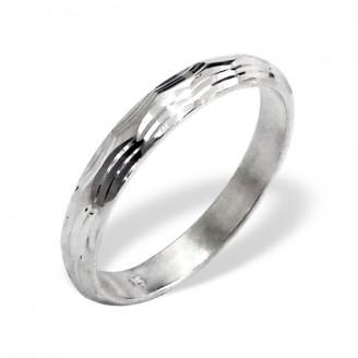 """Stříbrný prsten """"Svatební"""". Ag 925/1000"""